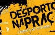 'desporto na praça' traz os ginásios às ruas de...