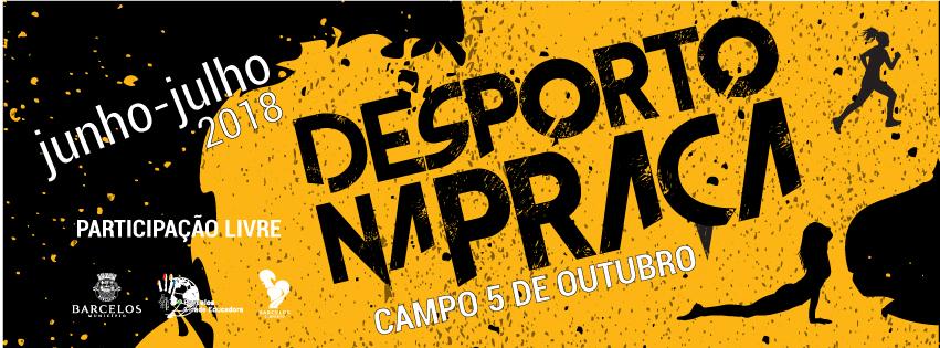'Desporto na Praça' traz os ginásios às ruas de Barcelos