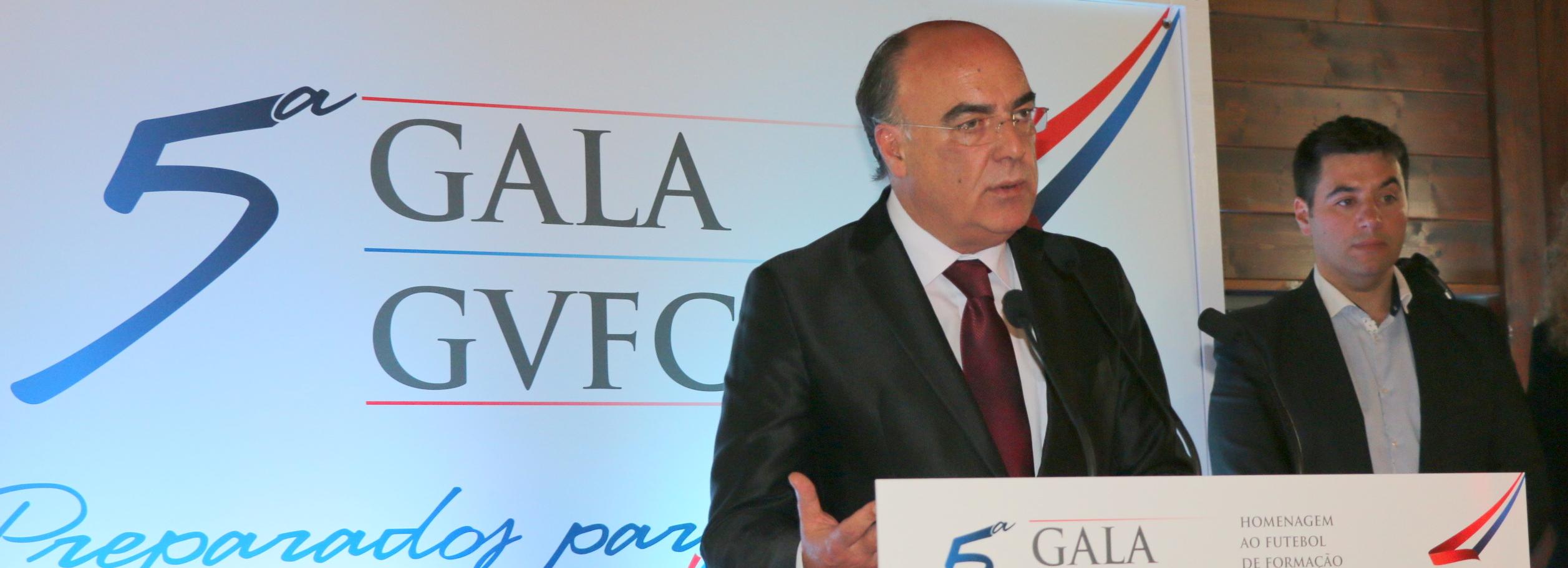 Presidente da Câmara associou-se à quinta gala do Gil Vicente