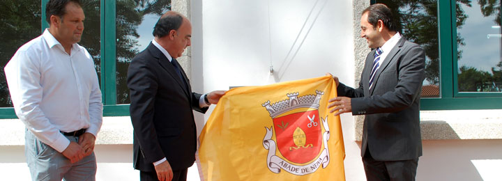 Miguel Costa Gomes inaugurou restauro da antiga escola primária de Abade de Neiva