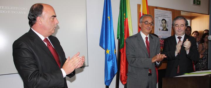 Miguel Costa Gomes na tomada de posse do presidente do IPCA