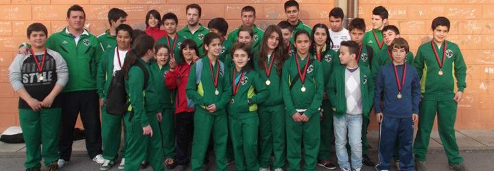 Judo da Associação Desportiva e Cultural de Manhente com 27 lugares de pódio