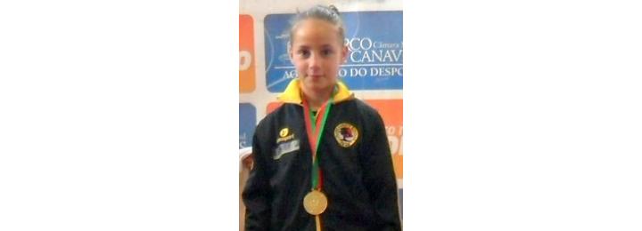 Atleta do Clube de Karate de Barcelos é campeã nacional