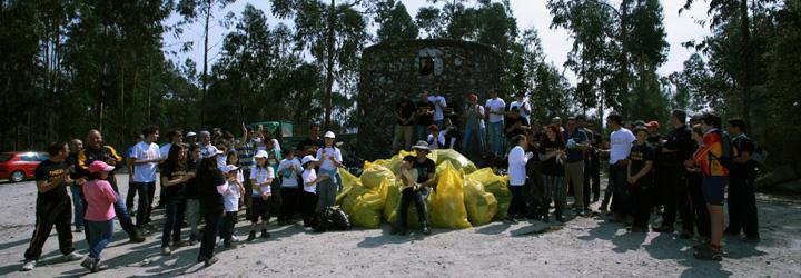 "Projeto ""Limpar Barcelos"" sensibiliza para a defesa do meio ambiente"