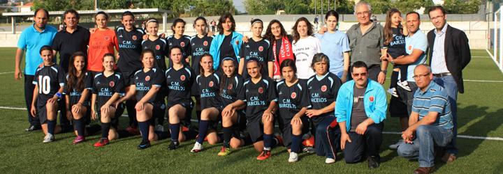 Equipa feminina de futebol da Casa do Povo de Martim é campeã nacional