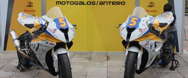 Team Motogalos/Antero foi apresentado