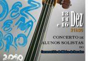 solistas do conservatório de música apresentam-...
