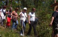 caminhada pelo percurso paisagístico, ambiental...