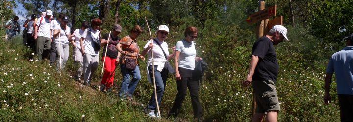 Caminhada pelo percurso paisagístico, ambiental e arqueológico de Arefe e Vale do Neiva