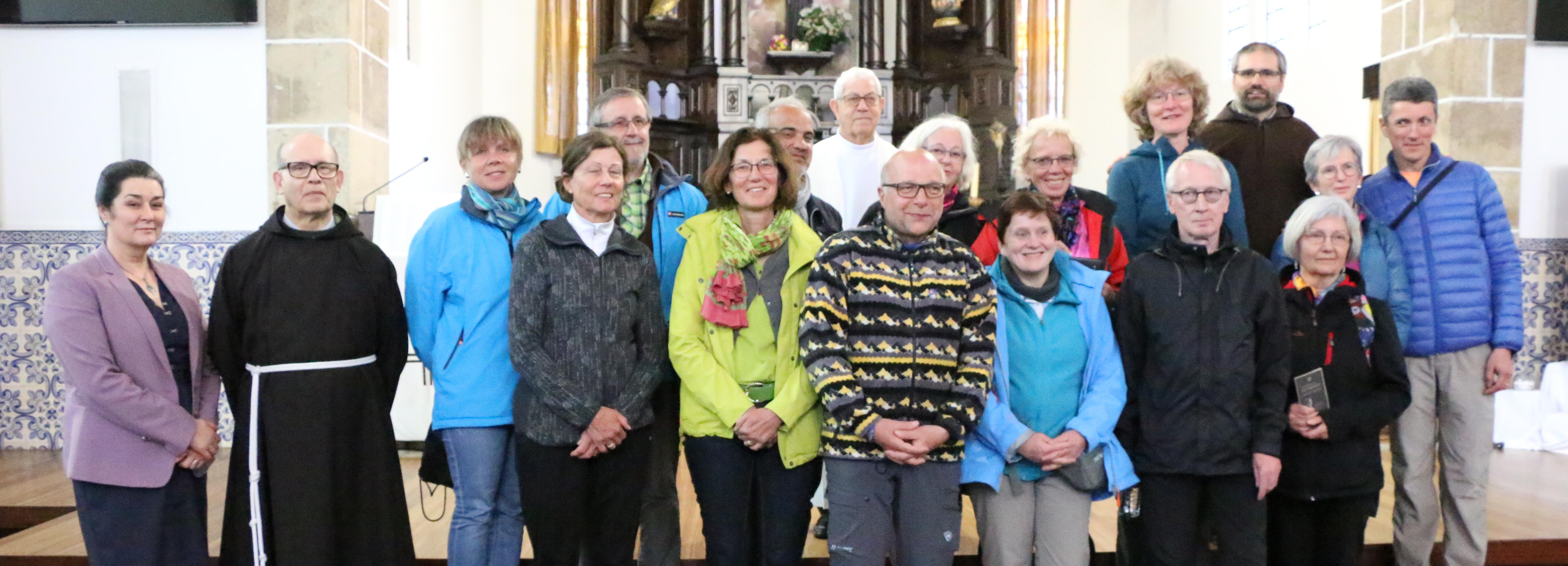 Vice-Presidente participa em bênção de peregrinos na Igreja de Santo António