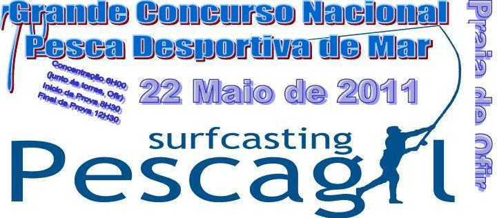 Concurso Nacional de Pesca Desportiva de Mar