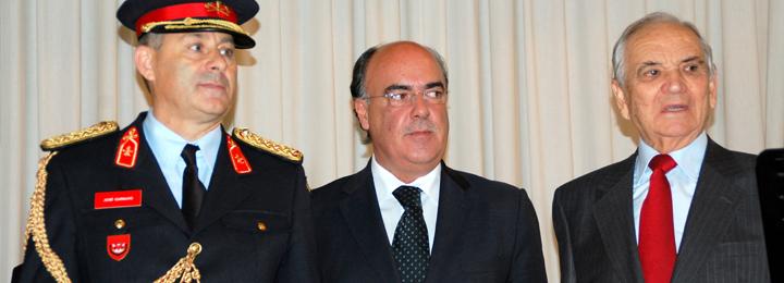 Presidente da Câmara na posse do novo comandante dos Bombeiros de Viatodos