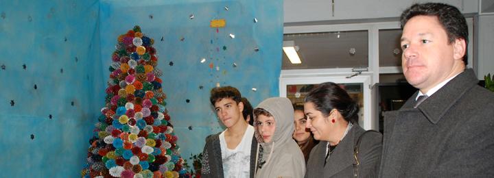 Alunos e professores da Escola Rosa Ramalho criam presépio
