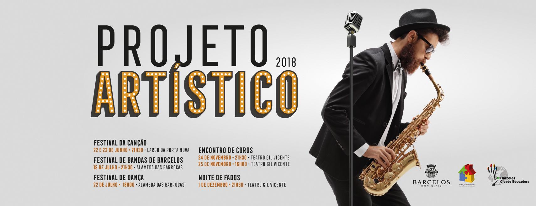 Projeto Artístico arranca com Festival da Canção