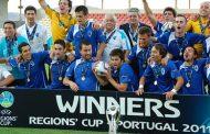 portugal vence taça das regiões no estádio cida...