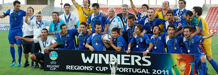 Portugal vence Taça das Regiões no Estádio Cidade de Barcelos