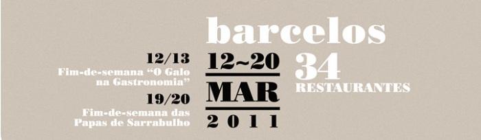 Semana Gastronómica continua nos restaurantes de Barcelos