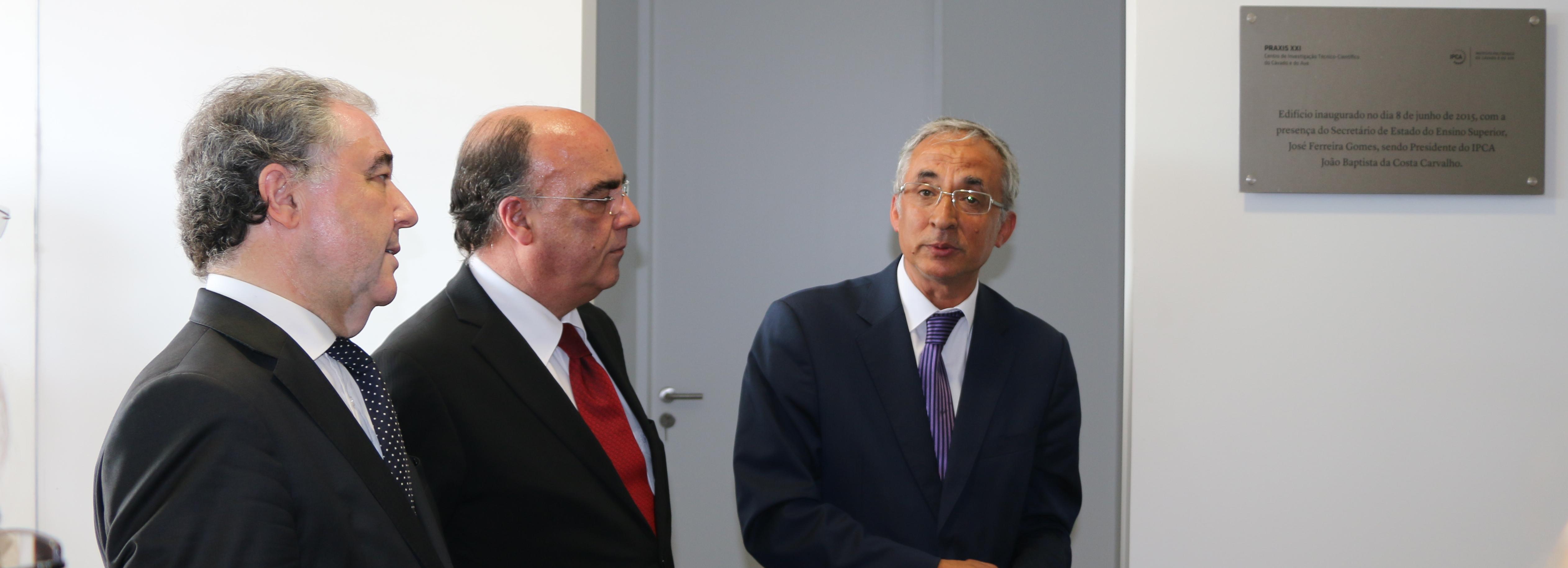 """IPCA inaugura Centro de Investigação """"PRAXIS XXI"""""""