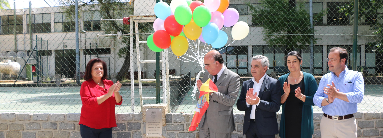 Presidente da Câmara inaugura Espaço Infantil no Parque da Cidade