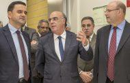 Ministro do Planeamento e das Infraestruturas inaugurou Pavilhão Desportivo de Fragoso