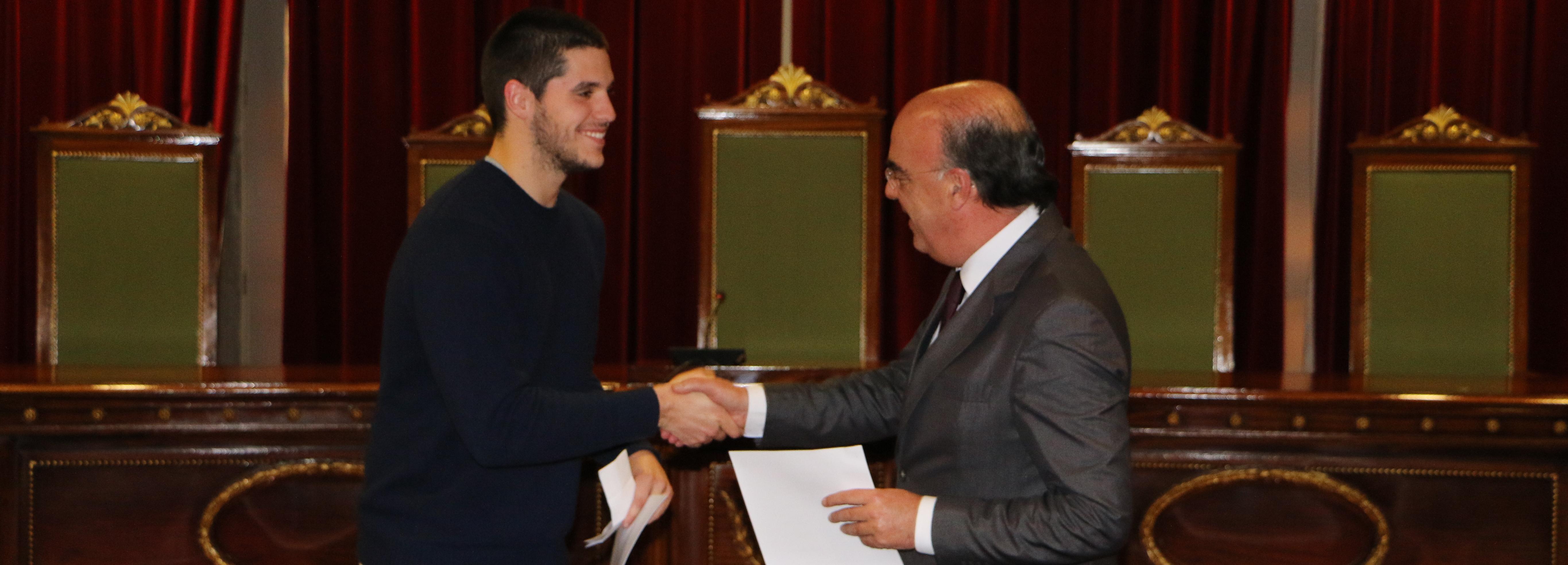 Presidente da Câmara assinou contratos de desenvolvimento desportivo no valor de 160 mil euros
