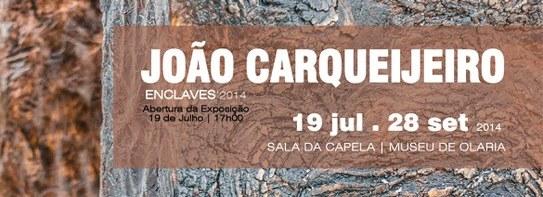 Exposição de escultura de João Carqueijeiro no Museu de Olaria