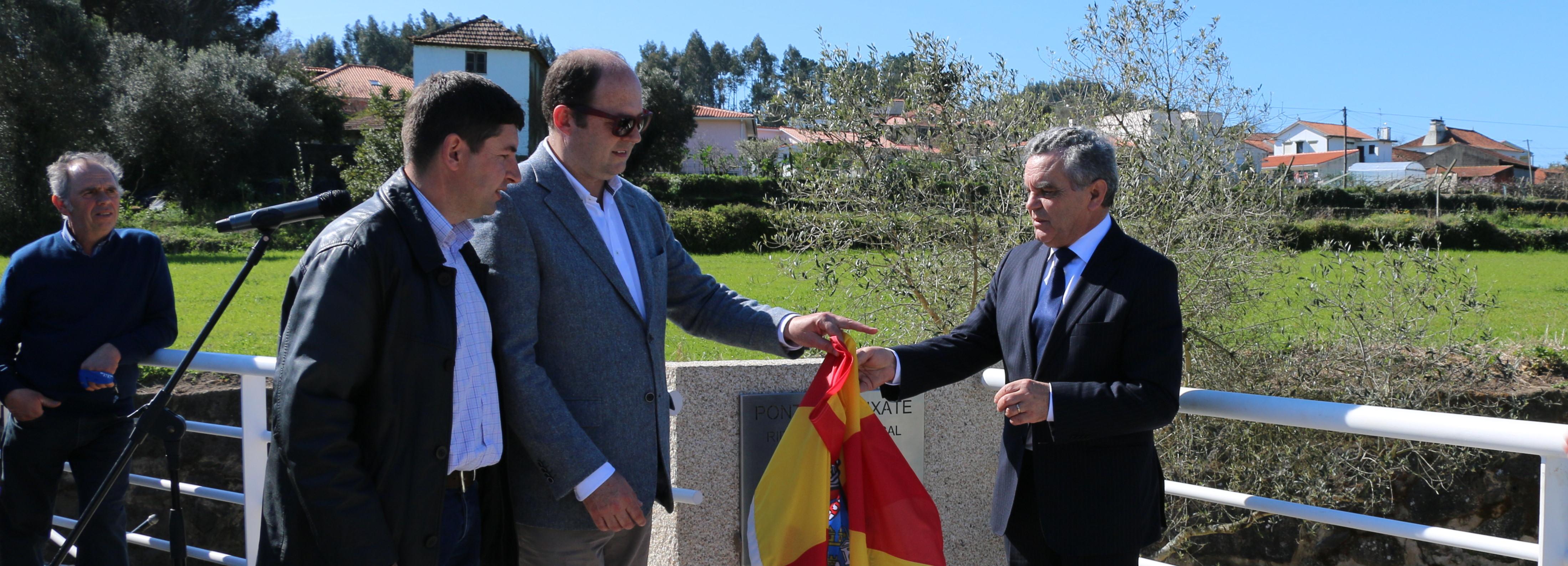 Vice-Presidente da Câmara inaugura reconstrução de ponte em Vila Cova