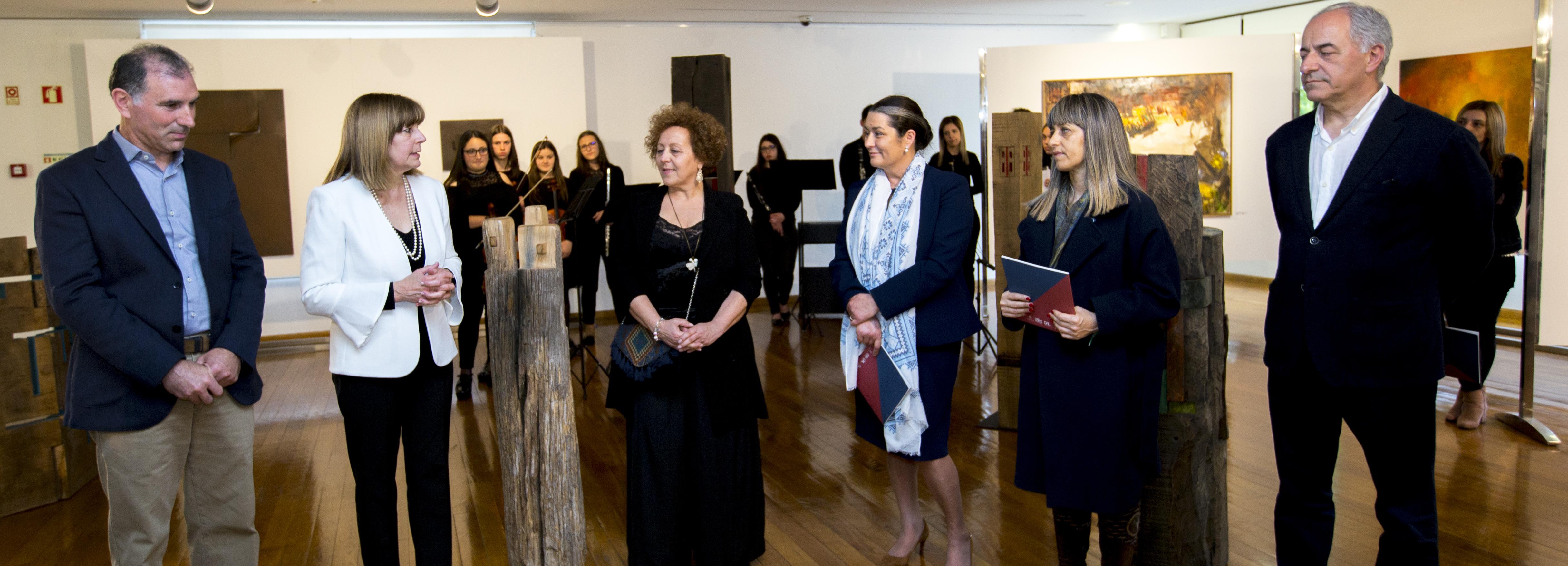 Galeria de Arte apresenta exposição de Maria Casal e Francisco Pazos