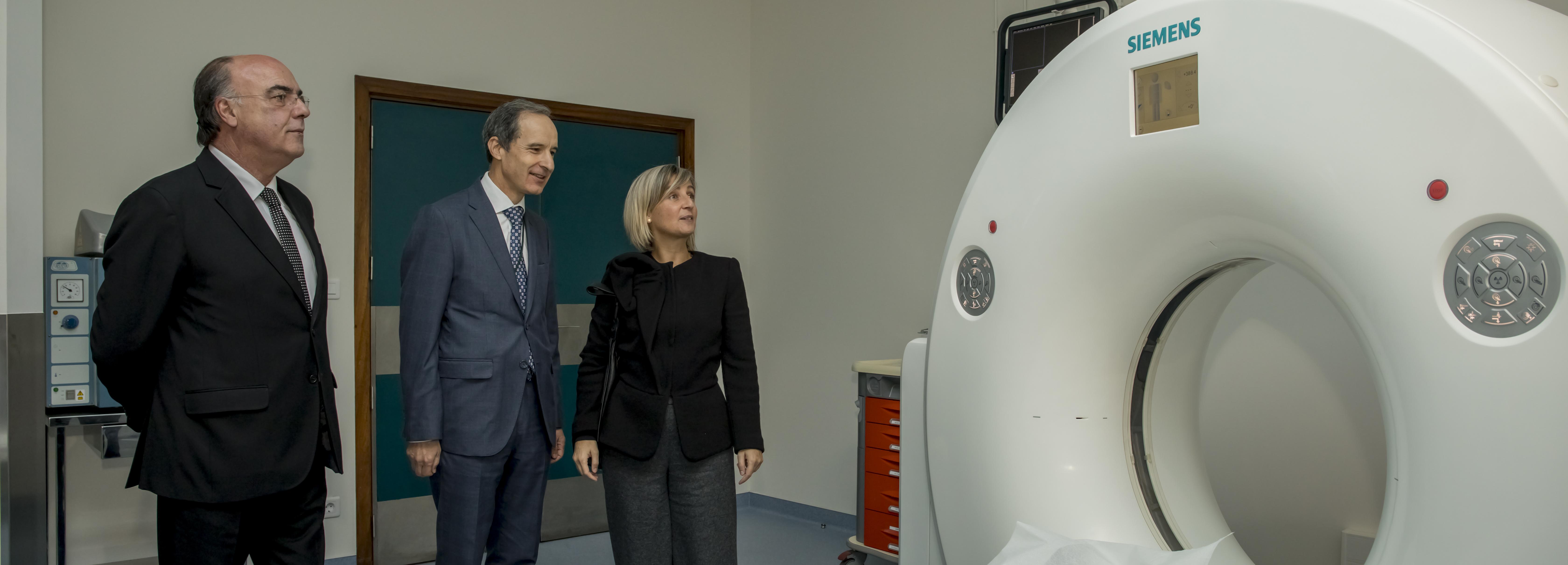 Ministra da Saúde e Presidente da Câmara inauguraram TAC do Hospital de Barcelos