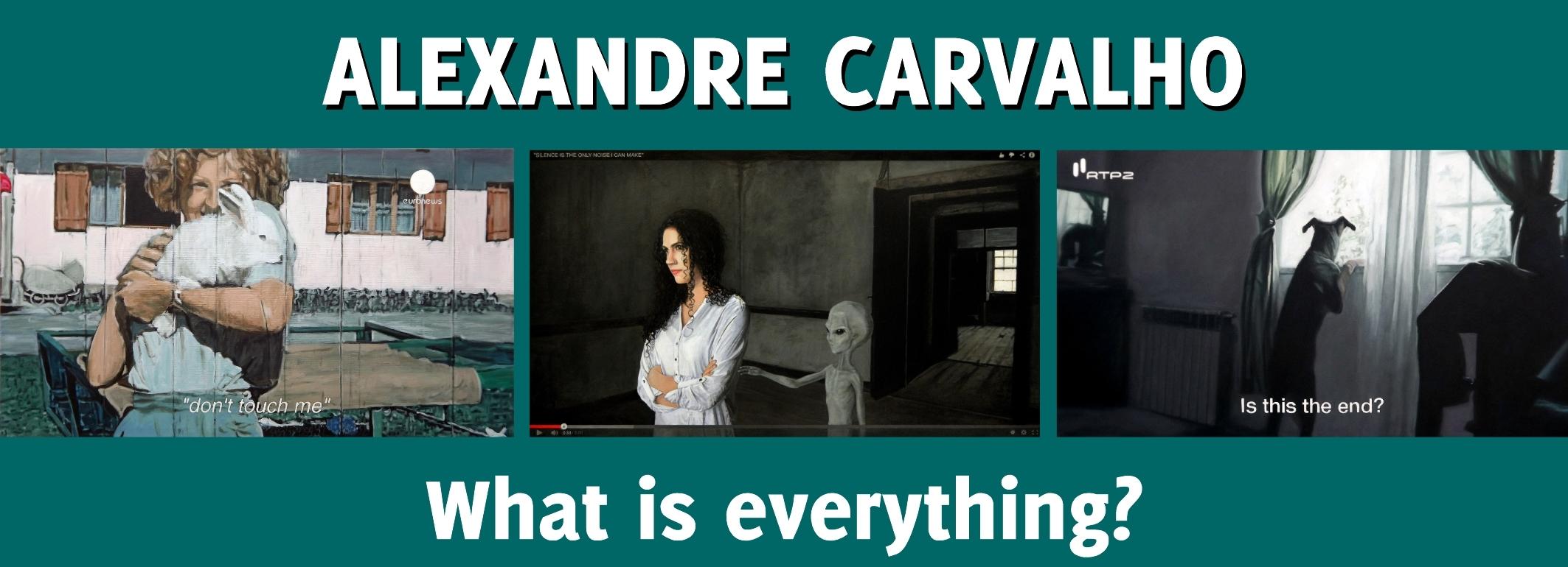 Exposição de pintura de Alexandre Carvalho na Sala Gótica