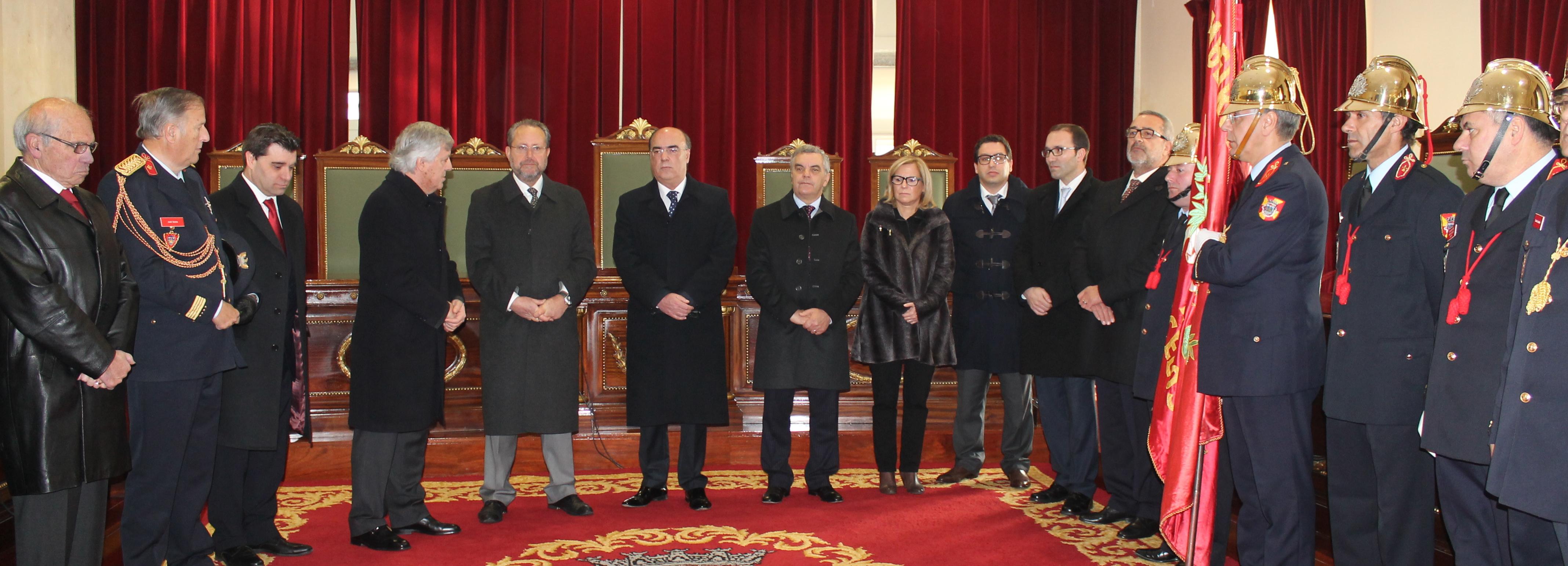 Presidente da Câmara presente nas comemorações do 132.º aniversários dos Bombeiros de Barcelos