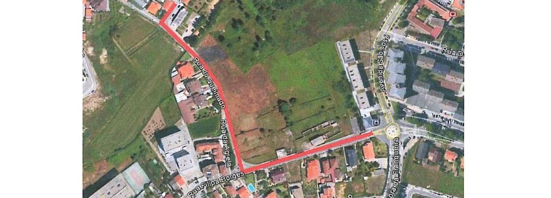 Obras de Urbanização na Rua Filipa Borges e Rua do Queimado em V.F.S. Martinho