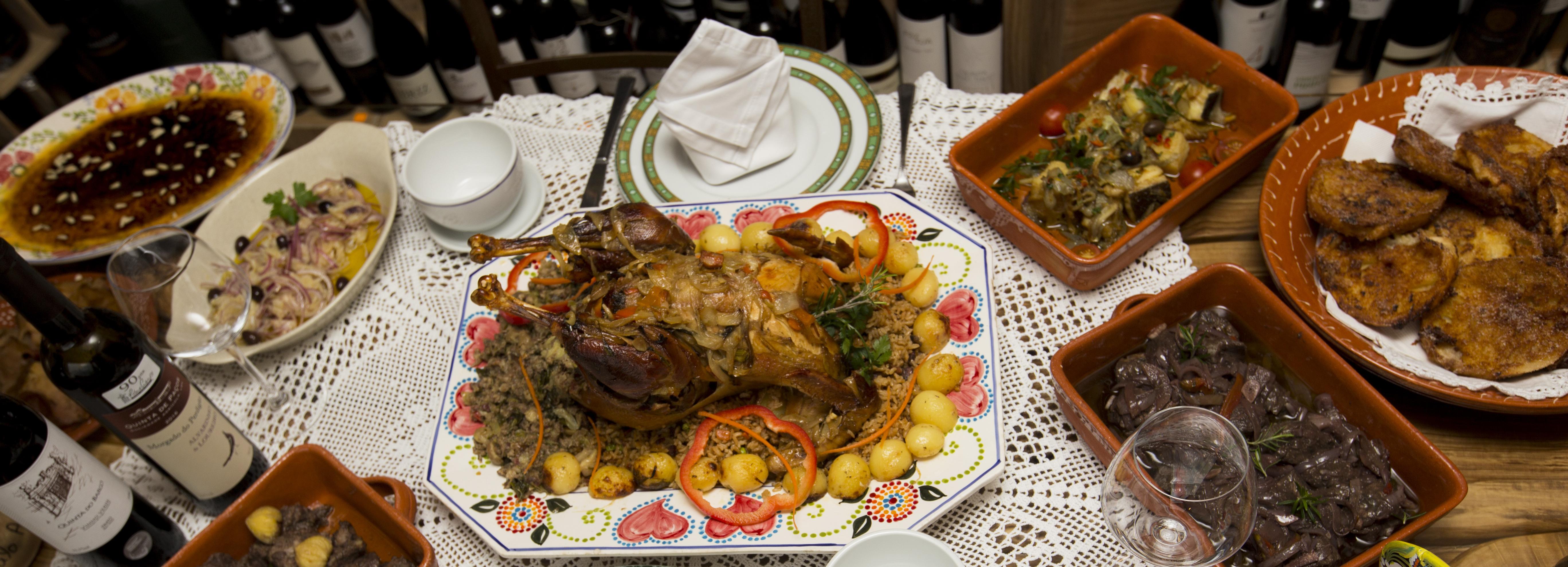 """""""7 Prazeres da Gastronomia"""" apresentados à mesa"""