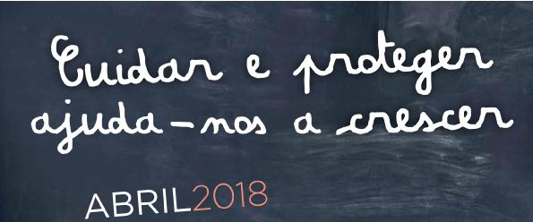 Mês de abril dedicado a iniciativas sobre prevenção dos maus-tratos na infância