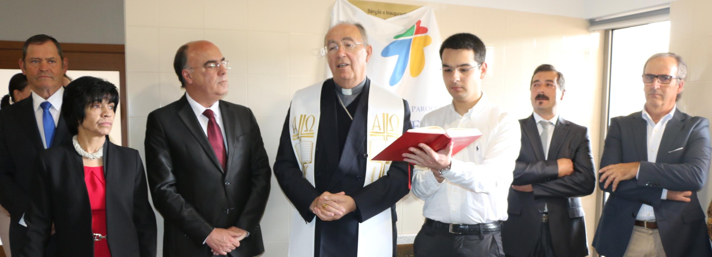 Presidente da Câmara inaugurou Centro Paroquial de Areias de Vilar