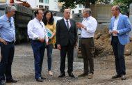 presidente da câmara visitou obras no campo 25 ...