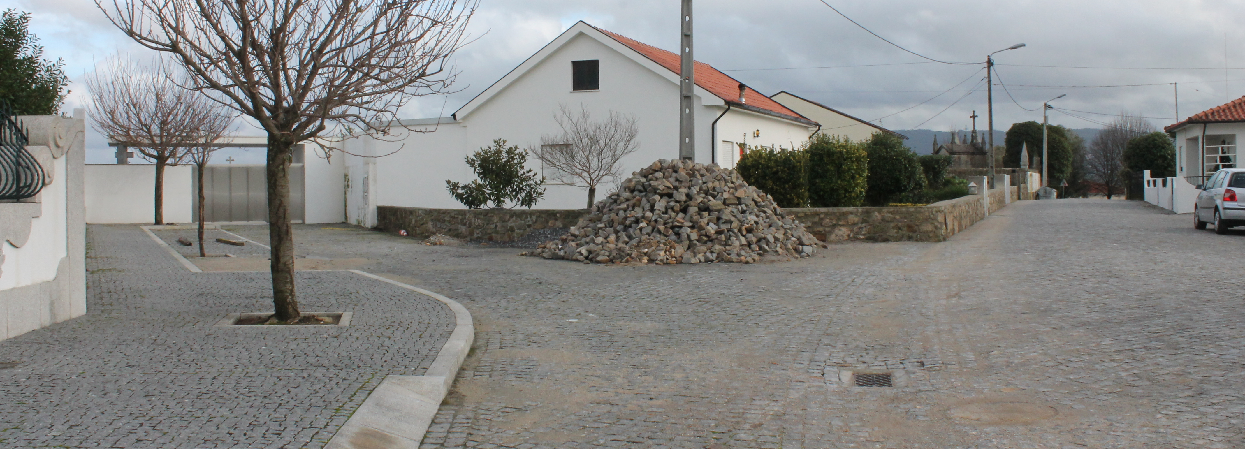 Junta de Arcozelo requalifica Rua da Igreja