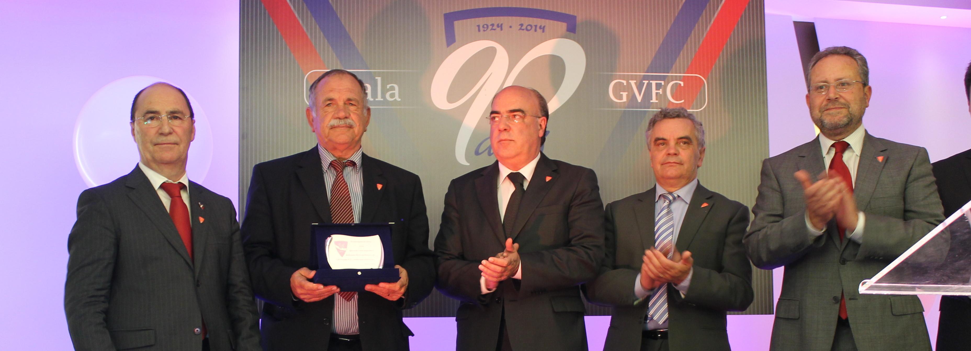 Câmara Municipal associa-se à celebração do 90.º aniversário do Gil Vicente FC