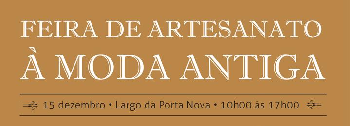 Feira de Artesanato à Moda Antiga, música e exposições de presépios