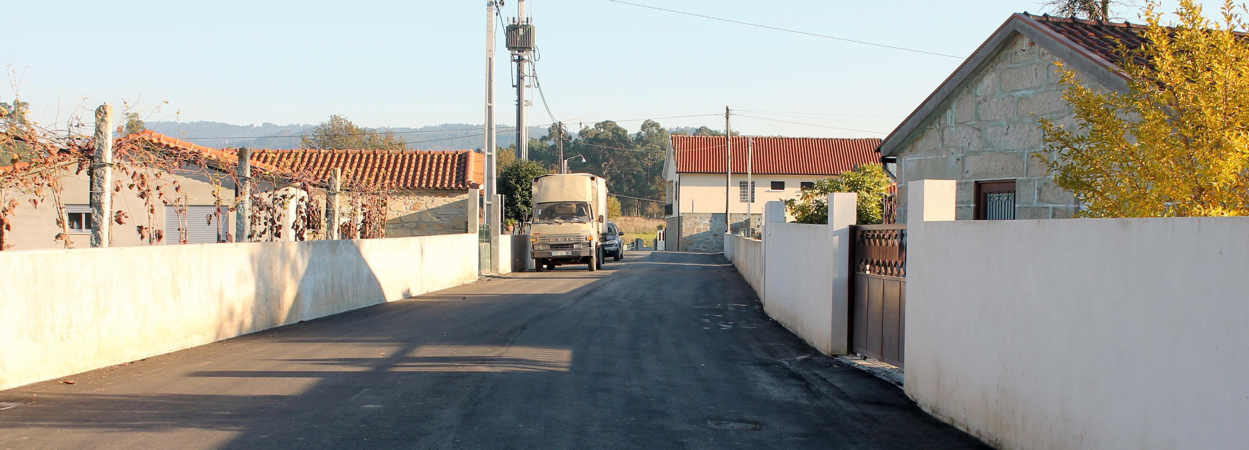 Câmara Municipal e a Junta de Rio Covo Santa Eugénia concluem as obras de requalificação das Ruas da Lobagueira e José Gomes Alves