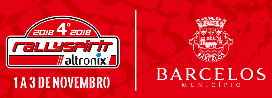 RallySpirit Altronix em Barcelos a 2 de novembro