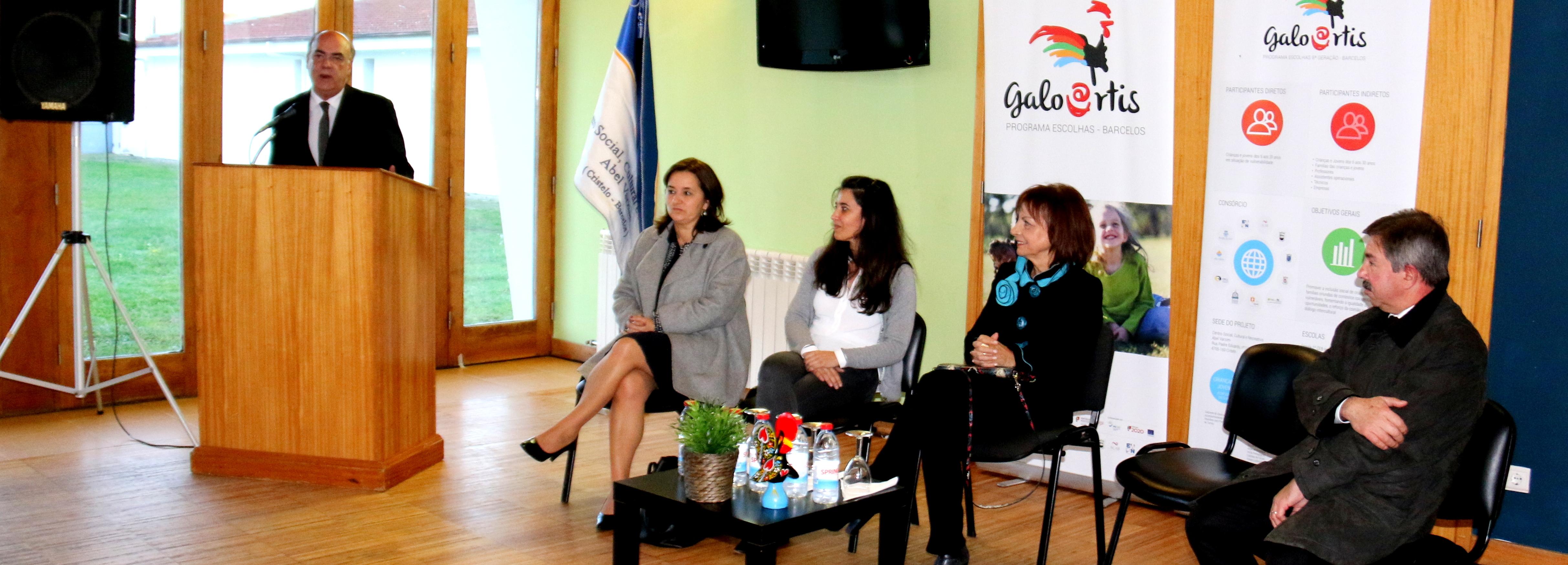 Ministra da Presidência e da Modernização Administrativa, Maria Manuel Leitão Marques, visitou Barcelos