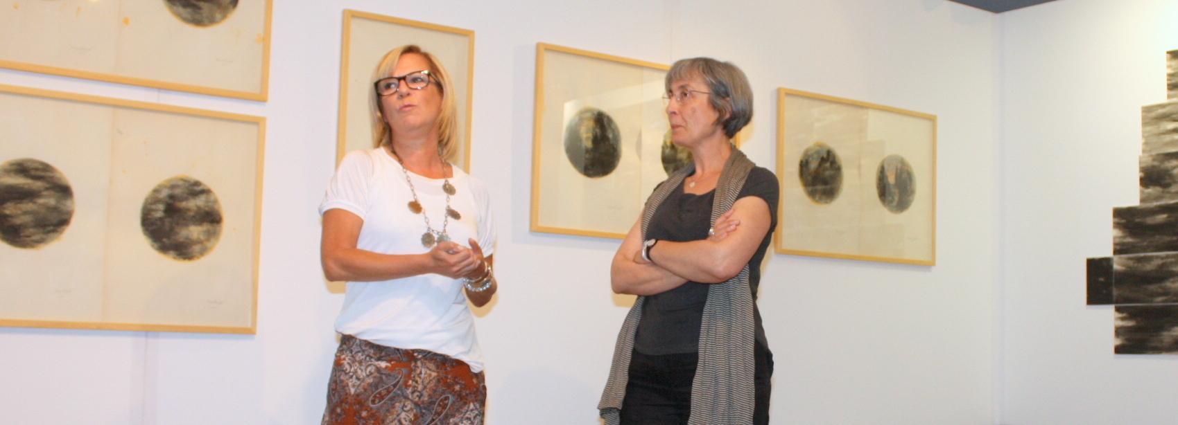 Margarida Lagarto expõe na Galeria Municipal de Arte