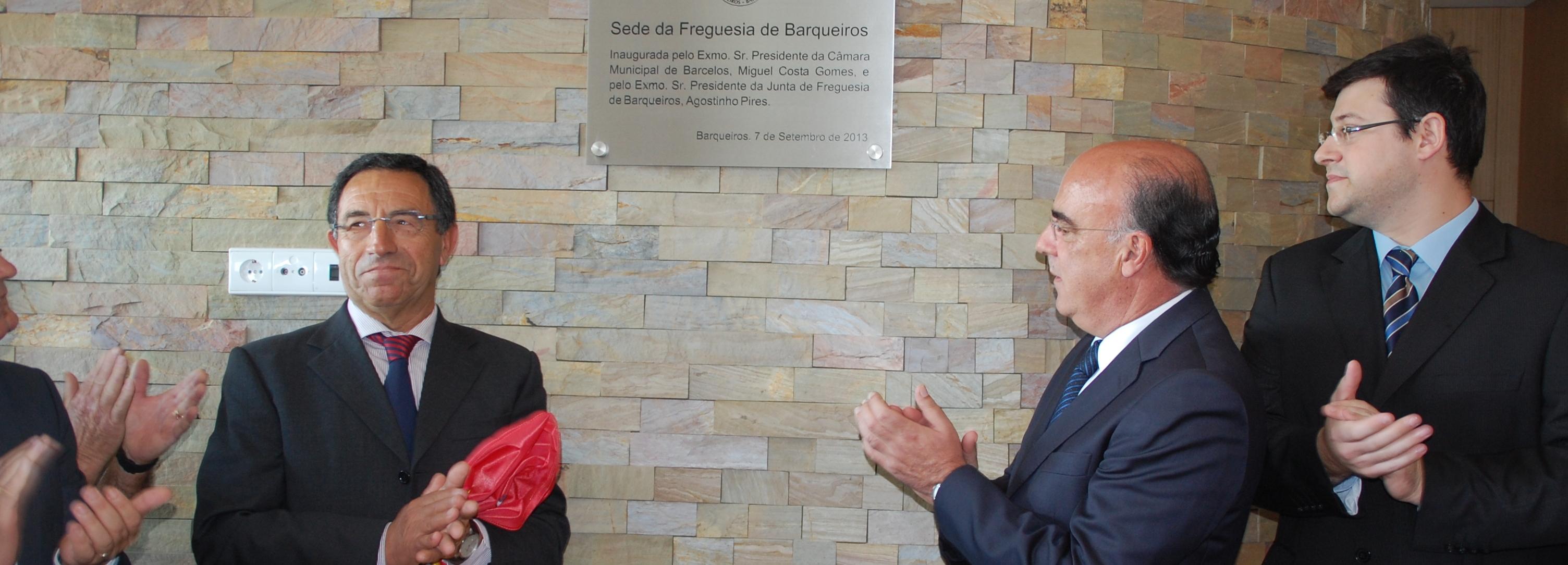 Presidente da Câmara inaugurou nova sede da Freguesia de Barqueiros