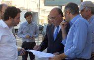 presidente da câmara visitou obras nas avenidas...