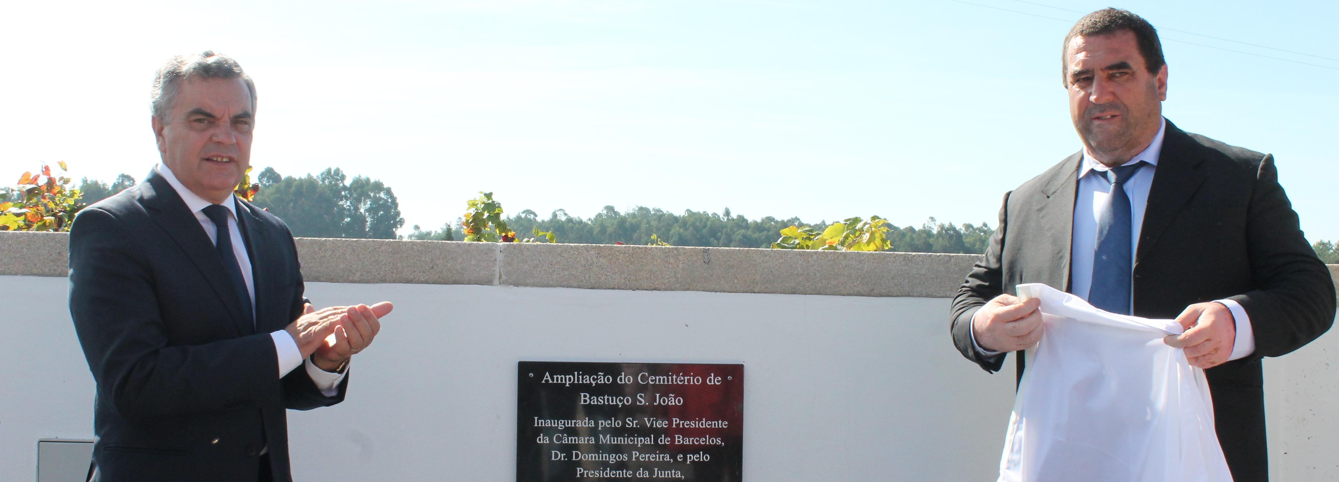 Vice-presidente da Câmara inaugurou ampliação de cemitério de Bastuço S. João