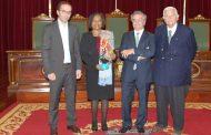 vice presidente da câmara recebe embaixadores d...