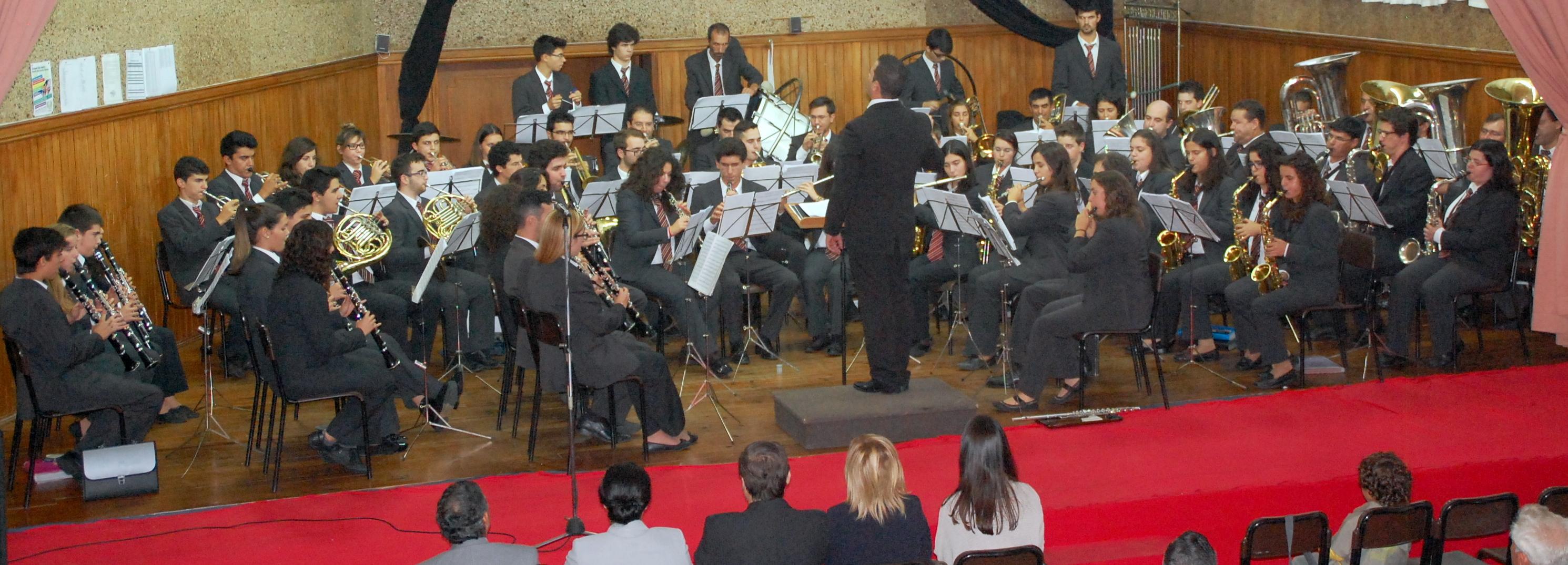 Banda de Oliveira comemorou Dia Mundial da Música com concerto e homenagens