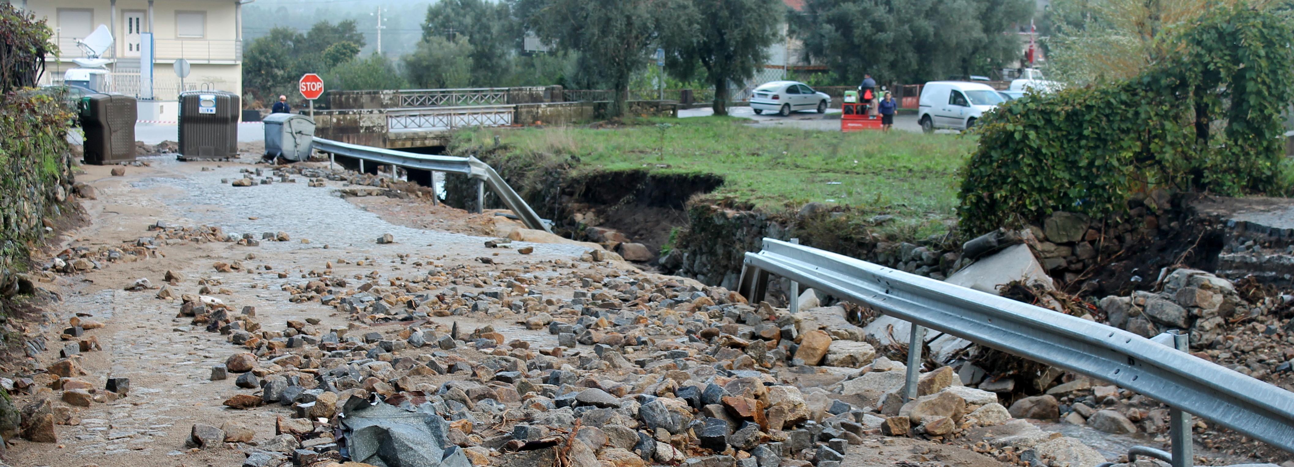 Temporal causou graves danos no concelho de Barcelos