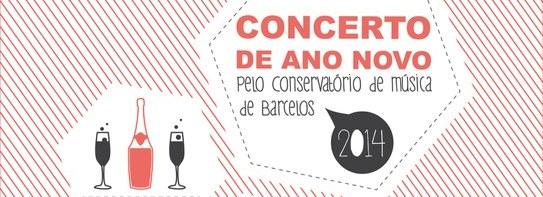 Conservatório de Música de Barcelos promove Concerto de Ano Novo